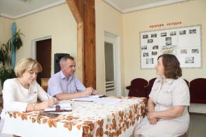 Приём в Староградском сельсовете Кормянского района